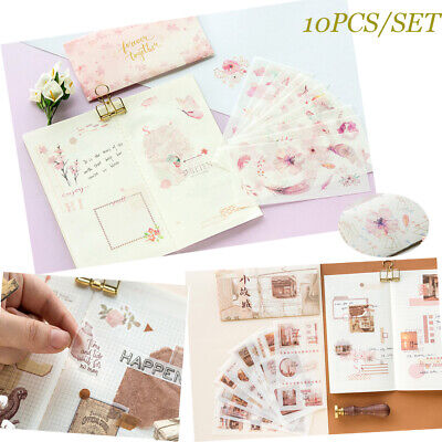 Masking Stationery Album Decor Scrapbooking Paper Sticker Diary Label