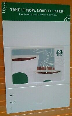 Starbucks TAKE IT NOW, LOAD IT LATER Gift Card, Collectible  Mint,