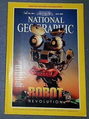National Geographic Magazine - July 1997 Vol 192 No 1 Robot Revolution