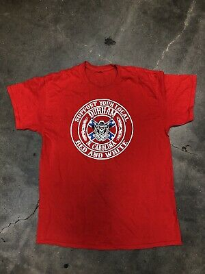 SUPPORT YOUR LOCAL 81 Hells Angels T Shirt North Carolina Chapter Large RARE