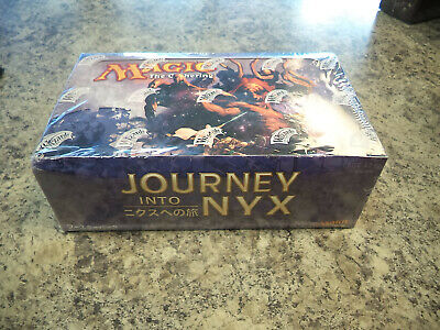 Japanese Journey into Nyx Booster Box Magic The Gathering MTG New Sealed 36 Pack