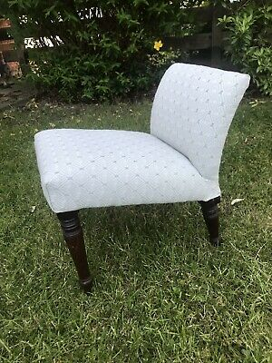 Antique Victorian Child's Bedroom Chair 19th Century Gout Chair