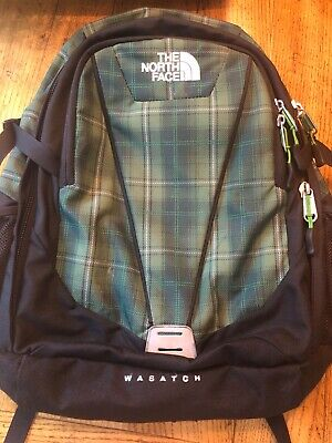 e02ac27cfef3 THE NORTH FACE Backpack Wasatch 4.0 Backpack NWT Blue Gold Yellow ...