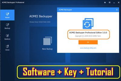 AOMEI BACKUPPER PRO Latest Version - Authorized Reseller