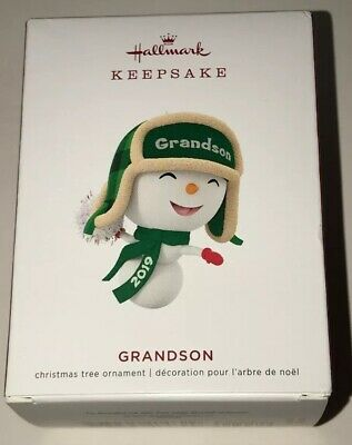Hallmark 2019 Keepsake Grandson Ornament