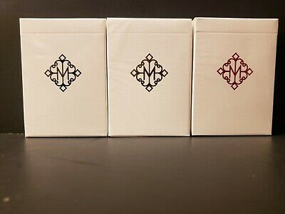 Limited Edition Set 3 Ellusionist Madison Revolvers Playing Cards Deck