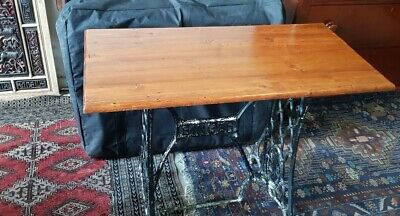 Singer Sewing Machine Table with Cast Iron legs