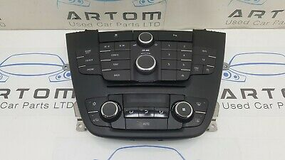 2010 Vauxhall Insignia Centre Console Radio Heater A/C Climate Control 13321292