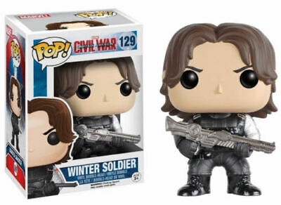 Funko Pop Winter Soldier Marvel Civil War Captain America Vinyl Action Figure