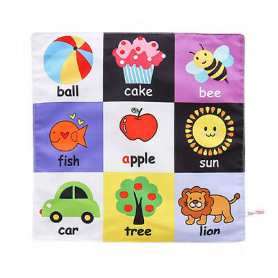 Intelligence Development Cloth Bed Cognize Book Educational Toy For Kid Baby CH