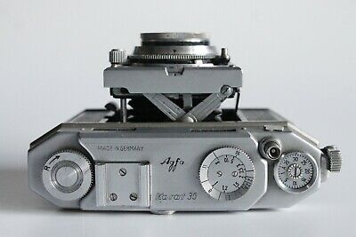 Afga Karat 36 35mm rangefinder camera