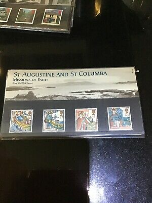 St Augustine And St Columbia Missions Of Faith Stamps