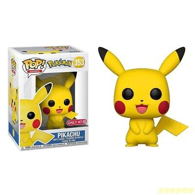 FUNKO POP Pokemon Cute Pikachu Figure Collection Model Toy Gift 353#