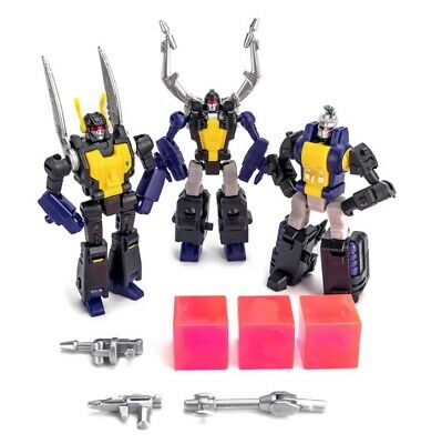 NewAge Toys Transformers Mini Warrior Heroes H10 H11 H12 Insecticon Set In Stock
