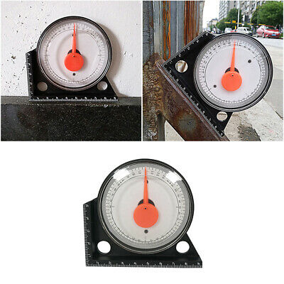 1Pc Inclinometer Accurate Plastic Durable Angle Meter Tool for Angle Measurement