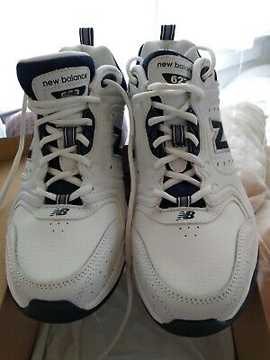 503a2bd5f3c2e New Balance Male Men's 623 Trainer Mens Cross-Training White With Navy size  10