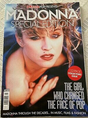 CLASSIC POP MAGAZINE 2017 PRESENTS  MADONNA SPECIAL EDITION 132 Pages NEW RARE
