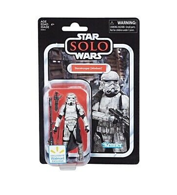 """Star Wars """"Solo"""" Mimban Stormtrooper VC123 Walmart Excl. NIP VIntage Collection"""