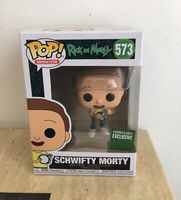 Funko Pop! Rick & Morty Schwifty #573 Barnes & Noble Exclusive In Hand
