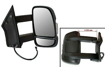 Right Exterior Mirror Long Arm Version Electric Motorhome for Peugeot Boxer II