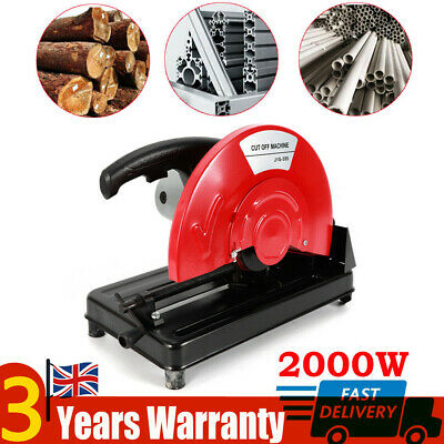 350mm 2000W Chop Saw Cutting Off Abrasive Mitre Electric Corded Cutting Off UK