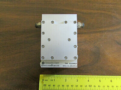 Quanta-Ray YAG Rod Assembly For Laser Amplifier Liquid Cooled