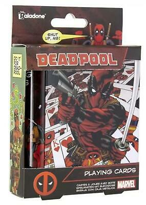 Official Marvel Deadpool Playing Cards