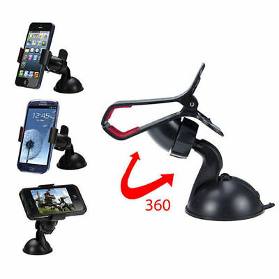 Universal 360° in Car Windscreen Dashboard Holder Mount Any size Mobile Phones