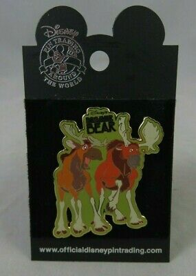 Walt Disney World Disneyland Pin - Brother Bear - Tuke and Rutt Moose