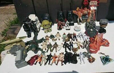 Star Wars collection 1980 - 2018 toy figures bundle