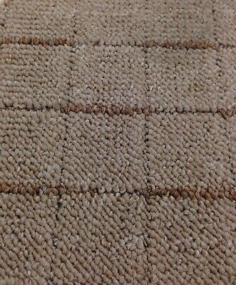 Cheap Carpet Heavy Domestic - Felt Backing Loop Pile - Brown Flecked *£3.85M2*