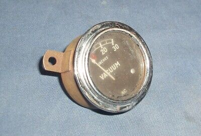 AC Vacuum Gauge - Also marked EnFo, A55 & 1504809 - Untested - For Repair Only