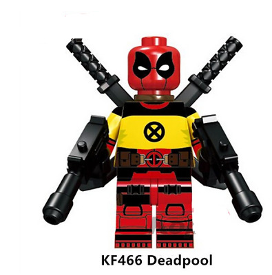Funny Deadpool Money Rare LeGo MiniFigures Marvel Endgame Iron man SET 250297