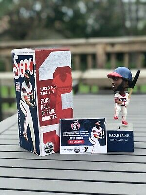 NEW Limited Edition Harold Baines 2019 HOF Chicago White Sox Talking Bobblehead