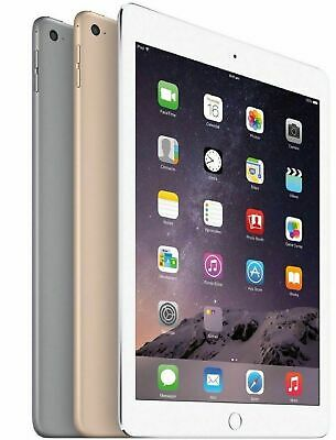 Apple iPad Air 2 64GB, Wi-Fi + 4G LTE (Unlocked), 9.7in - Space Gray Silver Gold
