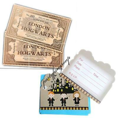 Harry Potter London Hogwarts Express Replica Train Ticket Party Gifts/Lollies