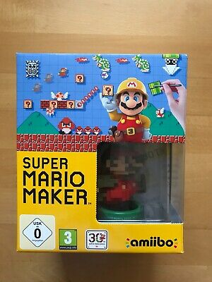 Super Mario Maker Limited Edition Pack für Nintendo Wii U, mit amiibo + Artbook