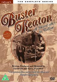 Buster Keaton A Hard Act To Follow The Complete Series Genuine R2 Dvd Vgc