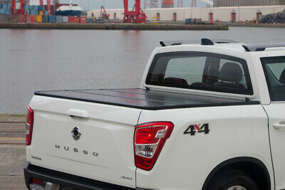 Ssangyong Musso Eagle ProFold Hard Tri Fold Tonneau Cover