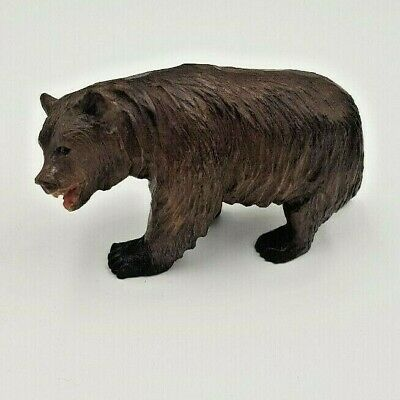 Antique  Black Forest Carved Wooden Bear - Fine Example / Ornament