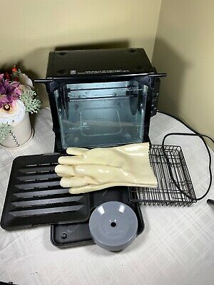 Ronco Compact Showtime Rotisserie & BBQ Oven 3000TB Black Complete Accessories
