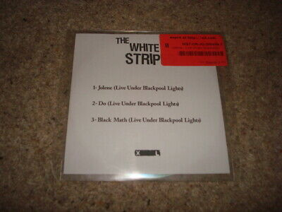 The White Stripes Live In Las Vegas Limited White Label