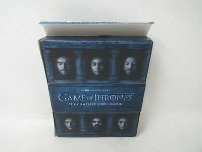 Game of Thrones: The Complete 6th Season (Blu-ray, 4-Disc Set)