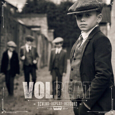 Rewind Replay Rebound - Volbeat (CD New) Explicit Version  Explicit Version