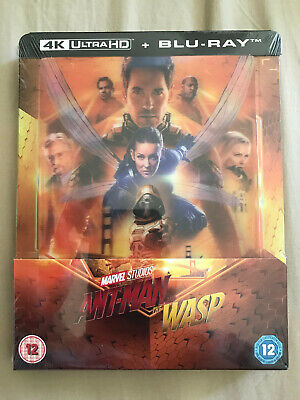Ant-Man and the Wasp 4K UHD Blu-ray Steelbook - Zavvi Exclusiv Lenti Cover OVP