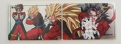 Carte Dragon Ball Z Special Vegetto 4 Original Laser Prism puzzle