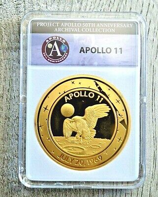 2019 Proof Apollo II-50th Anniversary Commemorative Coin - Archival Edition