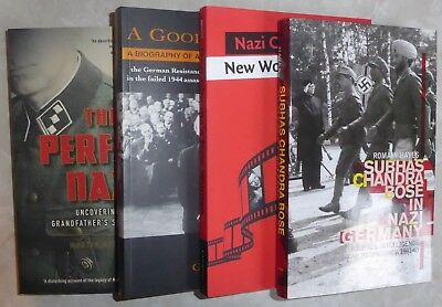 Lot #20 - FOUR books - WW2 Second World Two Nazi Nazism Women SS Bose Resistance