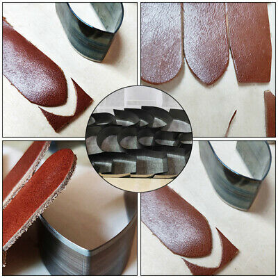 Leather Watch Strap Band Punchers DIY Tools 18pcs Hole Hollow Cutter Punch Set