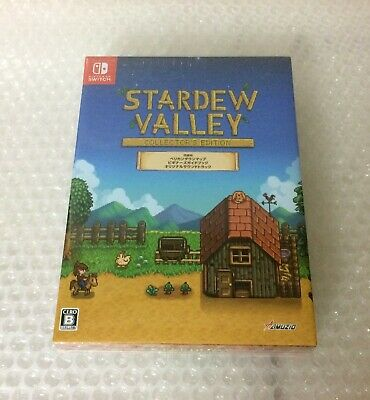 NEW Nintendo Switch Stardew Valley Collector's Edition JAPAN import Japanese